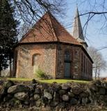 Kirche Siebeneichen von der Rückseite