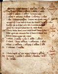 Auszug aus dem Ratzeburger Zehntregister von 1230