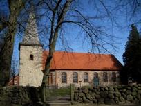 Kirche Siebeneichen von der Seite